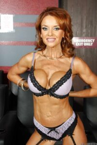 fit and ripped PIN UP MILF JANET MASON
