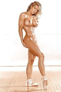 various nude fit women