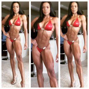 Aciefitgirl AKA Adrienne Crenshaw IFBB PRO BIKINI