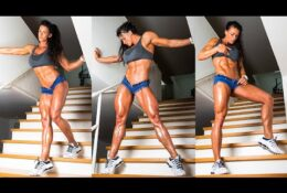Pull ups with Chains & Squats Extreme Workout with Cindy Landolt