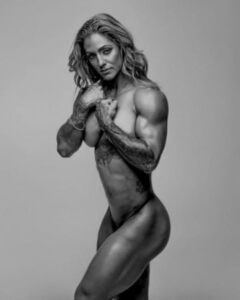Lot of sexy hot muscle women