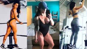 sexy Celeste Bonin muscle girl [Kaitlyn]