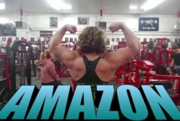Tamy Angel Moscow Muscles workout