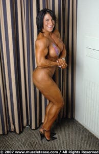 Sexy and nude Muscle Mature women