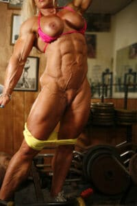 maryse manios full nude ripped and vascular body