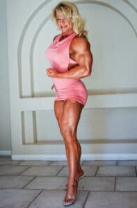 Tina Chandler appealing muscled woman