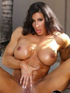 big clit female bodybuilder angela salvagno