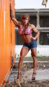 barbara carita Sexy hot muscles