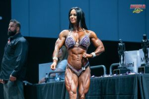Rach White pro female bodybuilder