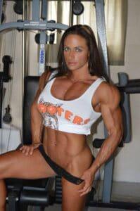 #musclegirl #musculargirl #TheresaIvancik picture