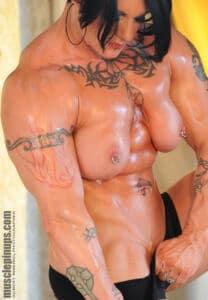 Brunette nude AMAZON MELODY SPETKO