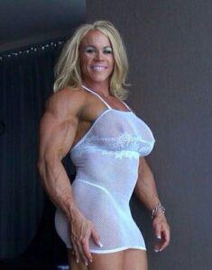 Buff sexy and massive ALEESHA YOUNG