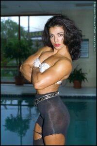 Sharon Bruneau Photo Set Flexing