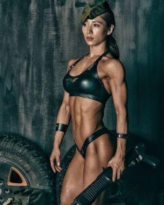 Seo Lee Jin asian Muscle girl