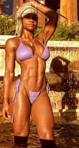 Jane Cargill Fit and Ripped Abs Beauty