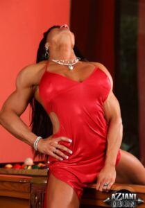BEAUTIFUL BRUNETTE MUSCLE GODDESS MARINA LOPEZ