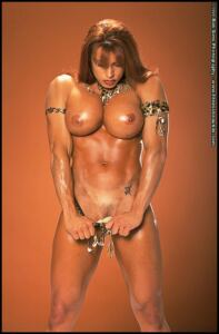 Topless Athletic April Hunter – Gold Thong Necklace