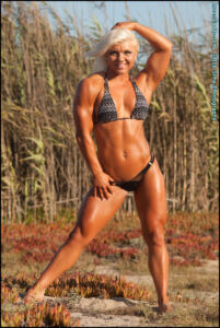 Carli Terepka – Fitness Sexy Body with sweaty muscle -IFFB PRO