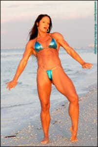 Ripped FIT beauty Jessilver Fox – Tiny Bikini