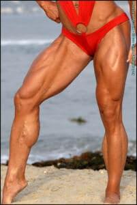 Tina Chandler – Olympian Poses – IFBB PRO