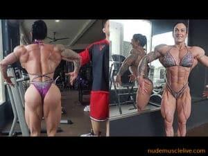 LAURA ROKUDA powerful muscle amazon