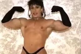 Goddess ANNIE RIVIECCO Topless Shows Us Her Muscle BODY