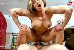 KARYN BAYRES Hardcore sex and lots of muscle