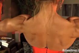 Female Bodybuilder With Large Clit XXX Abby Marie Muscle Porn