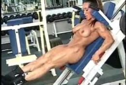 Denise Masino Nude Squat