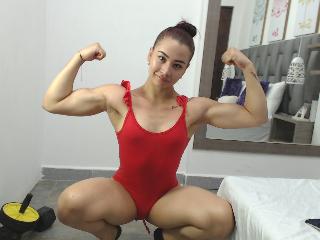 AMBER LITT LIVE SEX MUSCLE GIRL