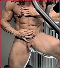 Huge bodybuilder clitoris Colette GUIMOND