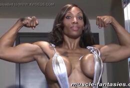 Muscle Ebony Africa Carey a.k.a. Coco Crush