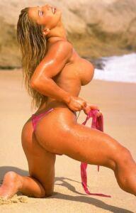 Nude Bikini Model FITNESS JULIE ANN