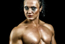 "Jacqueline ""Jay"" Fuchs muscle beauty"