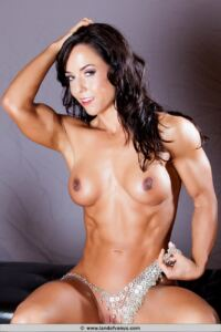 Full nude Fit and Ripped CATHERINE HOLLAND