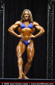 Sarah DUNLAP posing