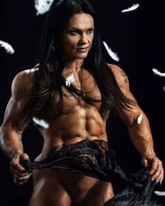 "Jacqueline ""Jay"" Fuchs muscle beauty"