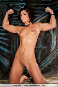 KORTNEY OLSON Sexy Muscle Girls The Buff And The Beautiful