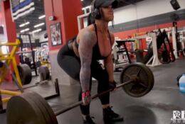 LAURA MARIE – Muscle Bombshell – Back Workout