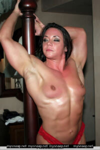 NAKED SARAH DUNLAP FEMALE WITH MUSCLE