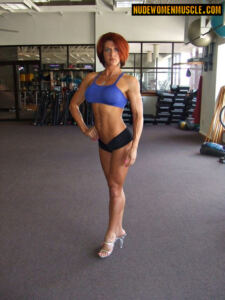 Allison Moyer Sexy Red Head Fit Girl