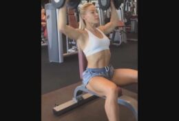 Hattie Boydle  WBFF Pro Fitness Model World Champion