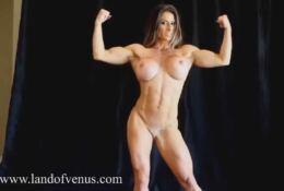 FIt body posing nude MARIA GARCIA
