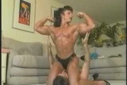 Mixed Wrestling Annie Rivieccio Naked FBB