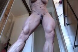 shredded muscle woman naked  JULIE PERREIRA
