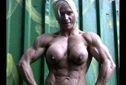 Nude Muscular NICOLE SAVAGE IFBB BEAUTY
